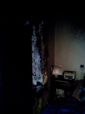 В Киеве сожжен офис Фундации им. Олега Ольжича