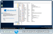 Windows 10 Redstone 2 [14955.1000] (x86-x64) AIO [28in2] adguard (v16.10.26)