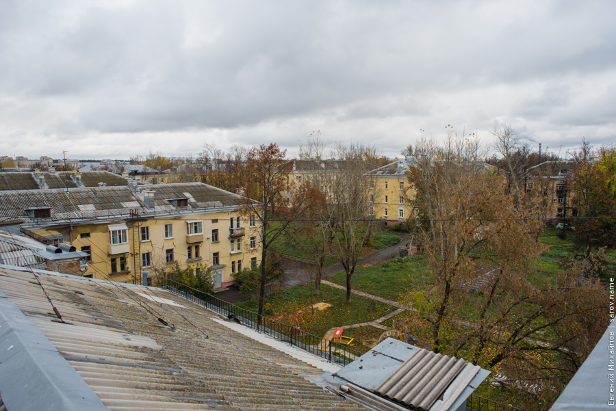 ряд крыш Сарова