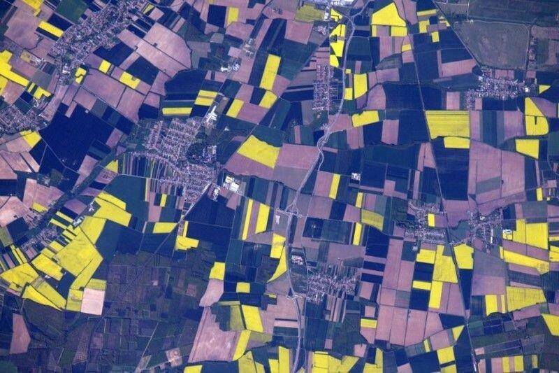 Потрясающие фотографии Земли из космоса от космонавта Джеффа Уильямс