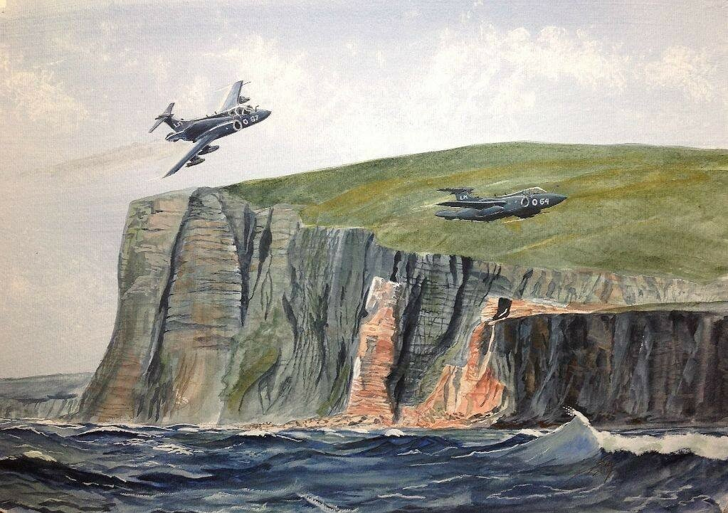 Two Buccaneers from Lossimouth and the 'Old Man of Hoy'.