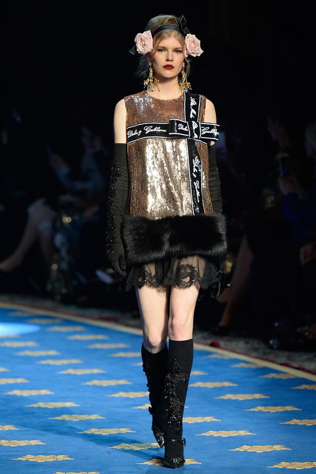 Dolce & Gabbana Alta Moda весна-лето 2017