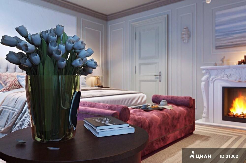 В аренду предлагается 10-комнатная квартира в самом центре Москвы площадью 638 квадратных метров на