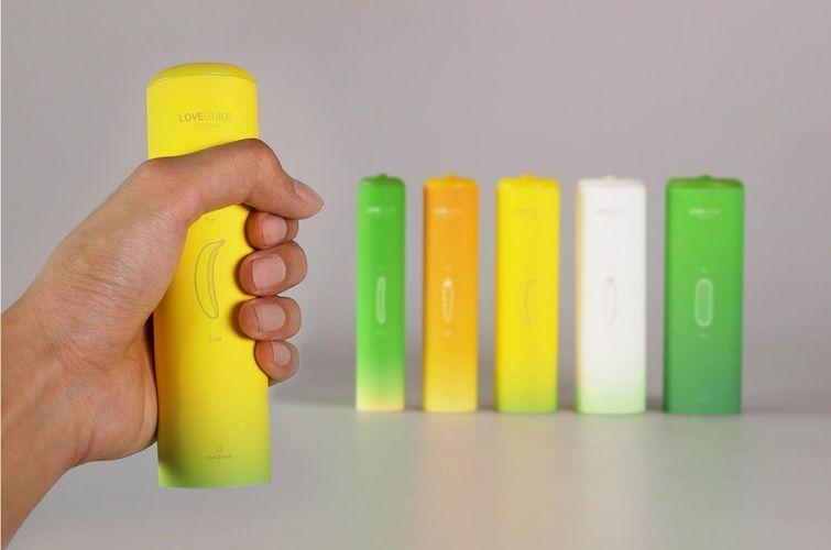 7.Дизайн упаковки овощных и фруктовых презервативов Чтобы покупателям было удобней приобретать през