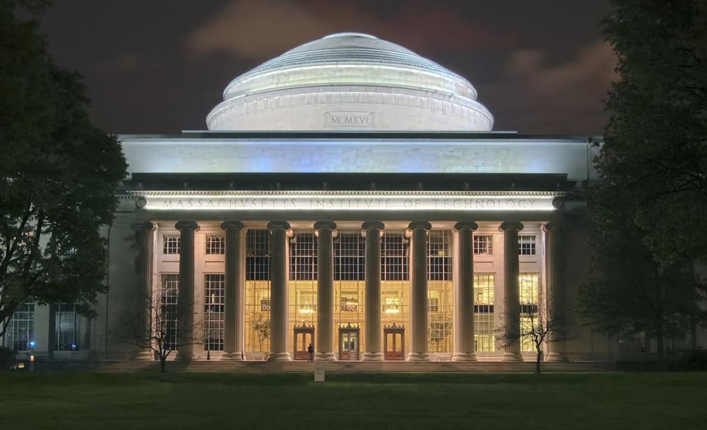 Массачусетский технологический институт. (Fcb981) 5 место