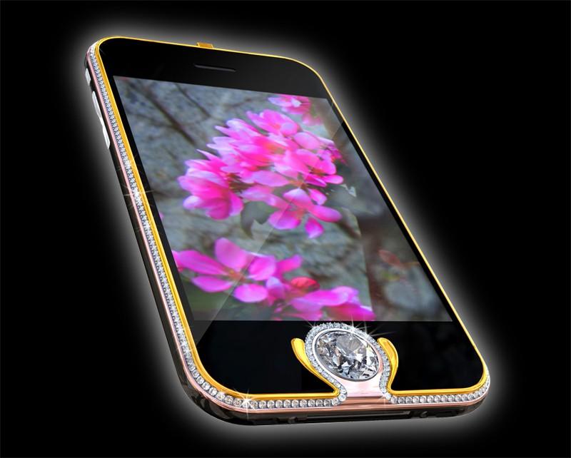 7. Королевский телефон – Peter Aloisson`s King`s Button iPhone 3G Этот элитный телефон со стандартно