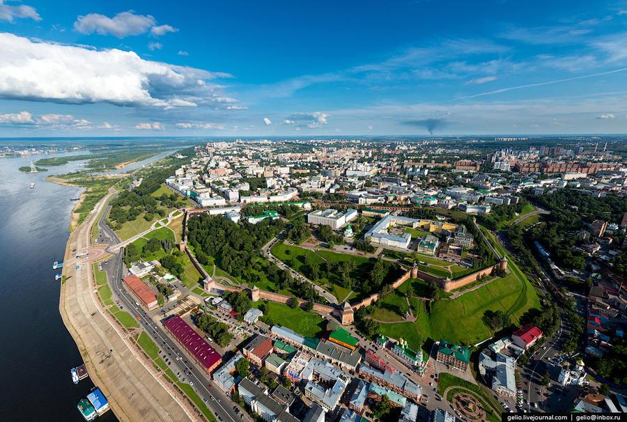 3. Нижегородский кремль — основная достопримечательность города. Первоначально, со времени основания