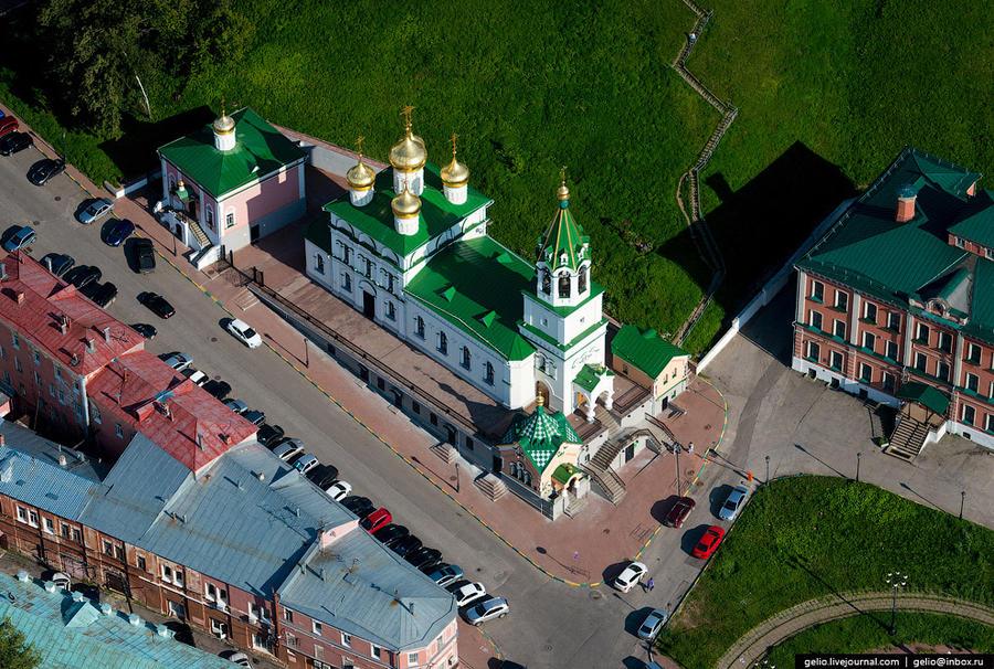 14. Церковь Св. Иоанна Предтечи — одна из самых древних в Нижнем Новгороде. По названию Иоанно-Предт