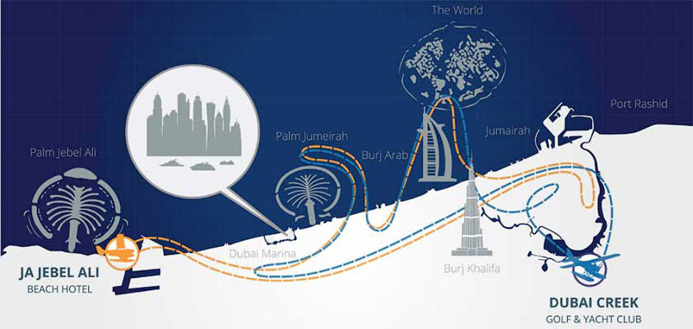 3. Дубай — город кондиционеров. Летом, когда солнце в зените, а столбик термометра переваливает за о