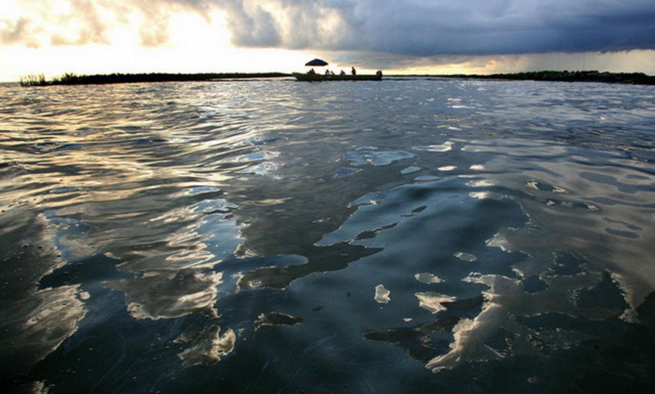 BP проинформировала оразливе 95 тонн нефти вСеверном море