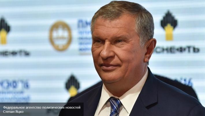 Сечин объявил оготовности «Роснефти» предложить Европе инвестпроекты на $100 млрд