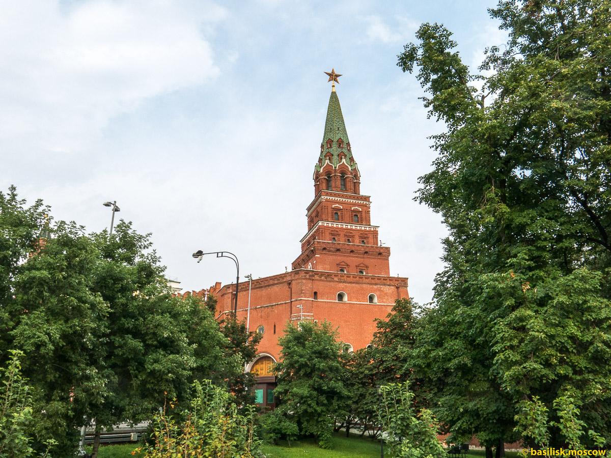 Александровский сад. Кремль. Июль 2016