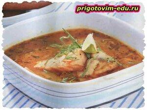 Суп из двух рыб
