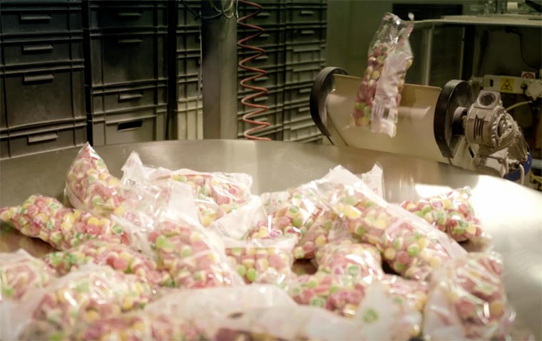The production of candy is as mesmerizing as disgusting