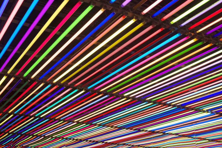 Light Installation by Liz West