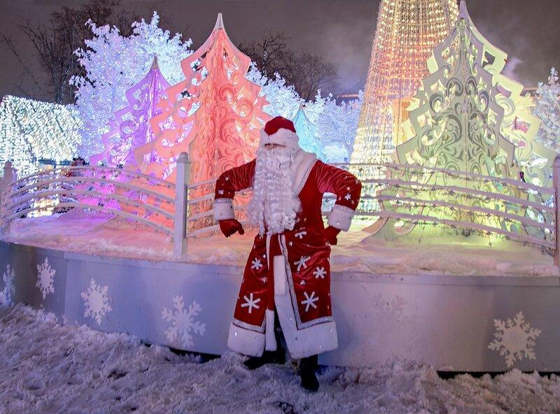 Веселый дед Мороз