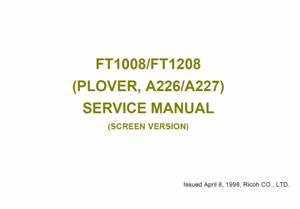 service - Инструкции (Service Manual, UM, PC) фирмы Ricoh - Страница 2 0_1b1df7_62f72416_orig