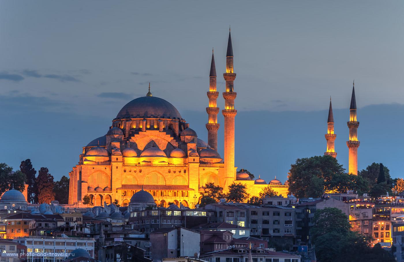 Фото 18. Стамбул. Достопримечательности. МечетьRüstem Paşa Camii. Отчеты туристов об отдыхе в Турции. HDR из 3-х кадров.