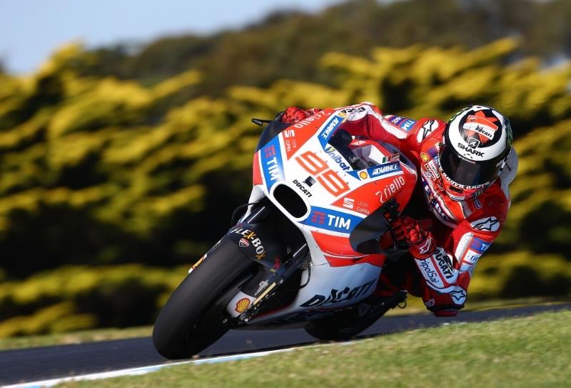 Хорхе Лоренцо в поисках границ Ducati