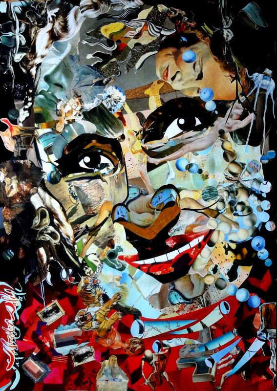 Incredible Collages with Old Magazines Fragments