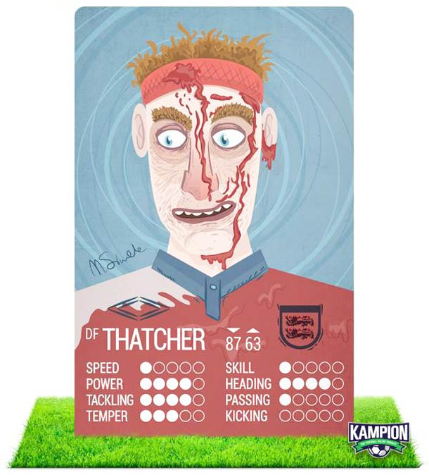 Kampion - Un jeu de cartes entre galerie d'art et football