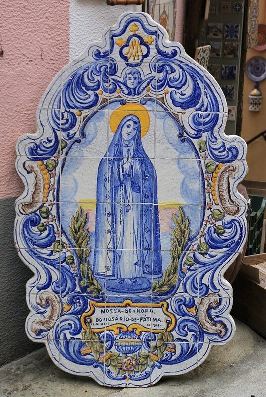 Азулежу в Синтре (Azulejos in Sintra)