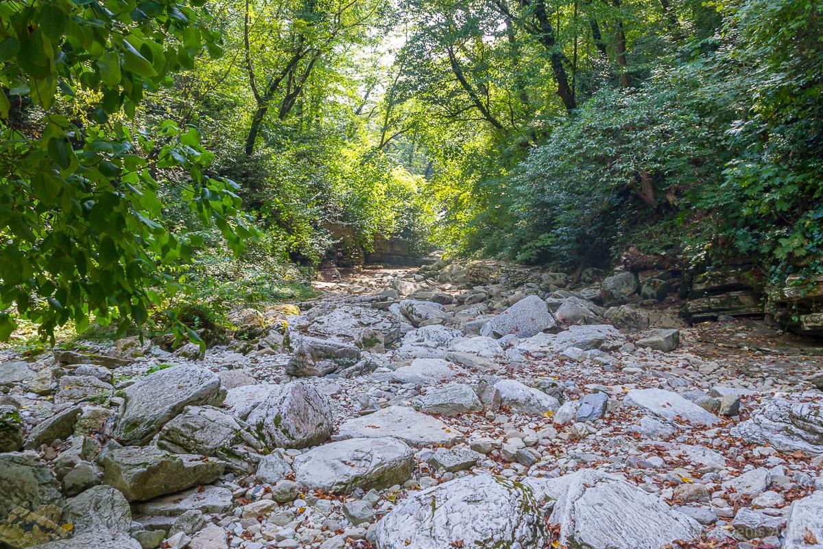 Агурское ущелье, водопады фото 9