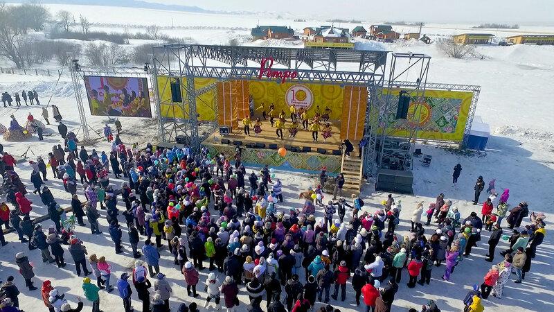 Сибирская Масленица 25 февраля 2017