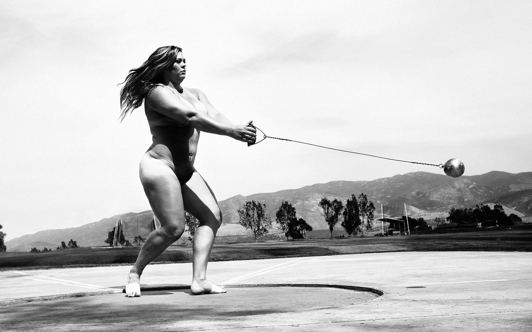 ESPN Magazine The Body Issue 2015 - Amanda Bingson / Аманда Бингсон - Культ тела журнала ESPN