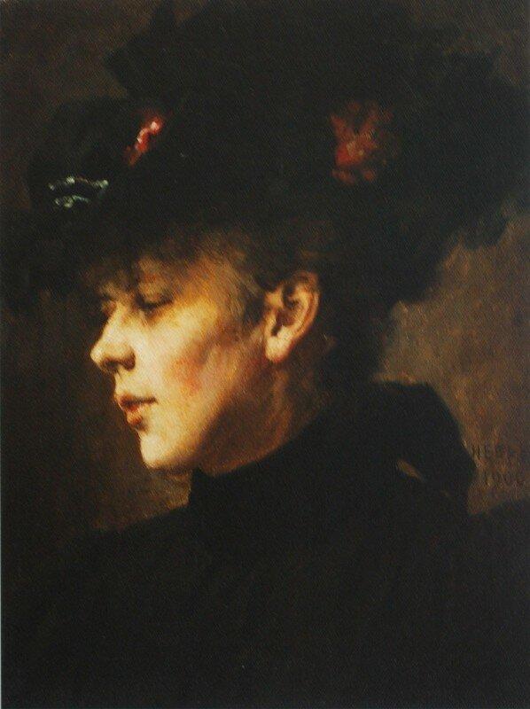 Портрет неизвестной»  1900  ГТГ.