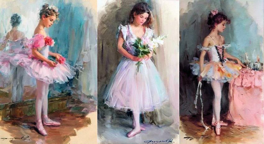 Картины с девочками своими руками 840