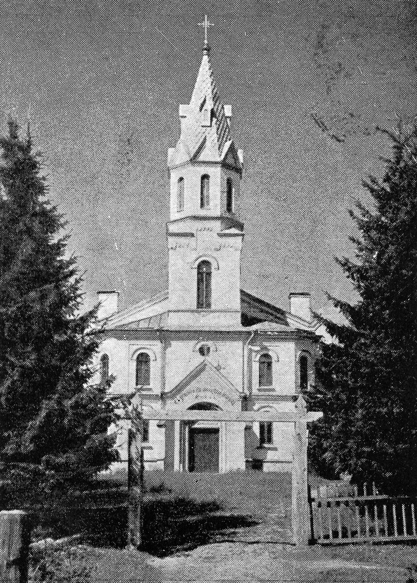 Токсово. Евангелическо-лютеранская финская церковь