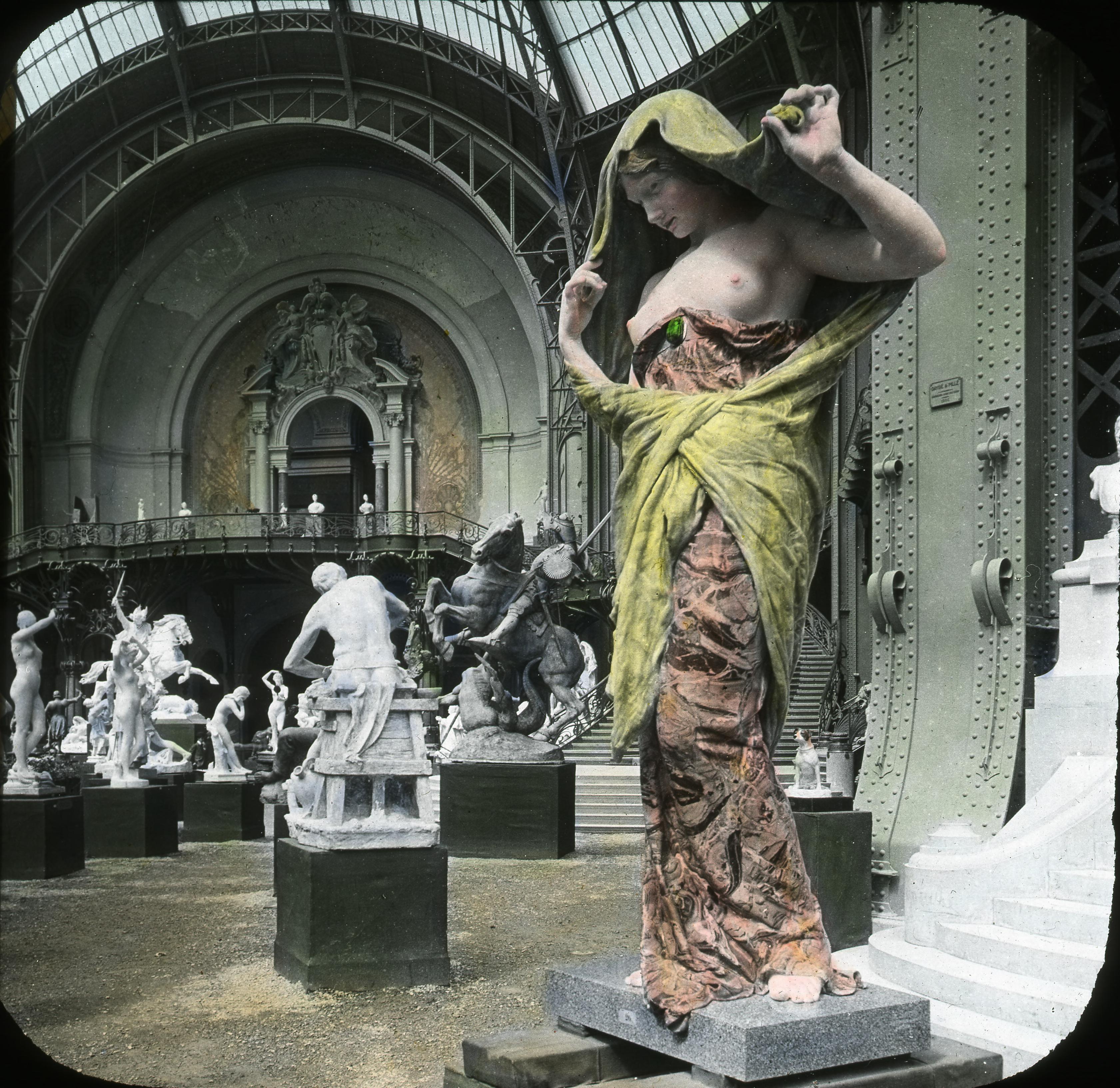 Большой дворец. Галерея скульптур
