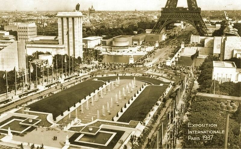 Париж, Трокадеро