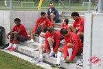 Спартаковцы тренируются на швейцарском сборе