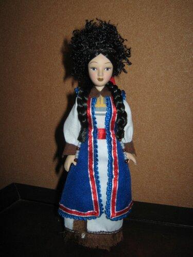 Куклы в народных костюмах №95 Кукла в алтайском женском праздничном костюме