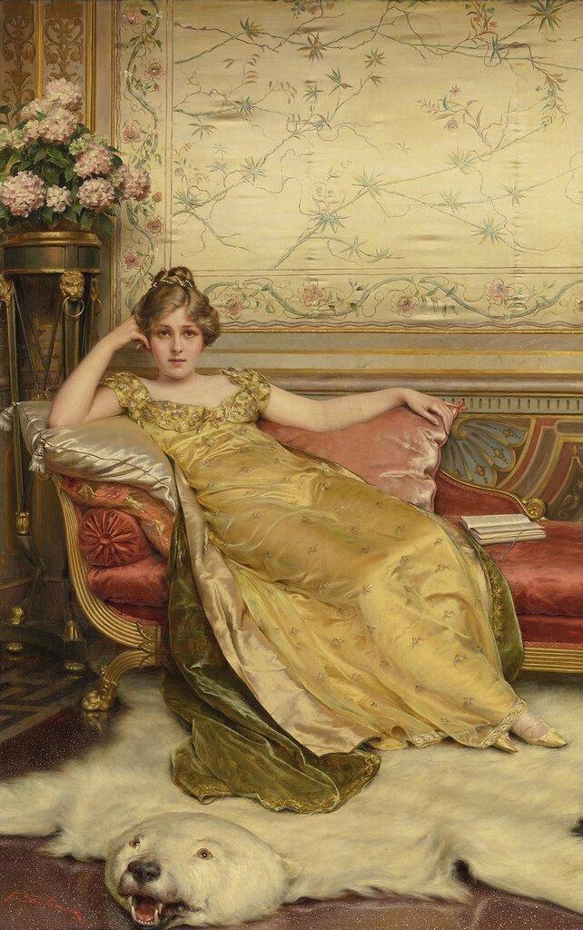 Frederic Soulacroix, 1858-1933. �����. 71.7 � 45 ��..jpg
