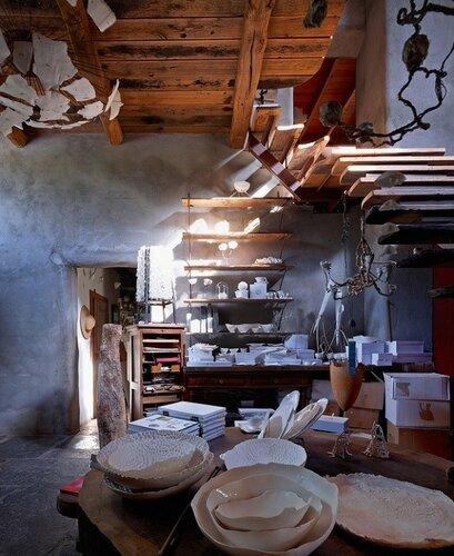 Сказочный дом художницы Рос ван де Вельде