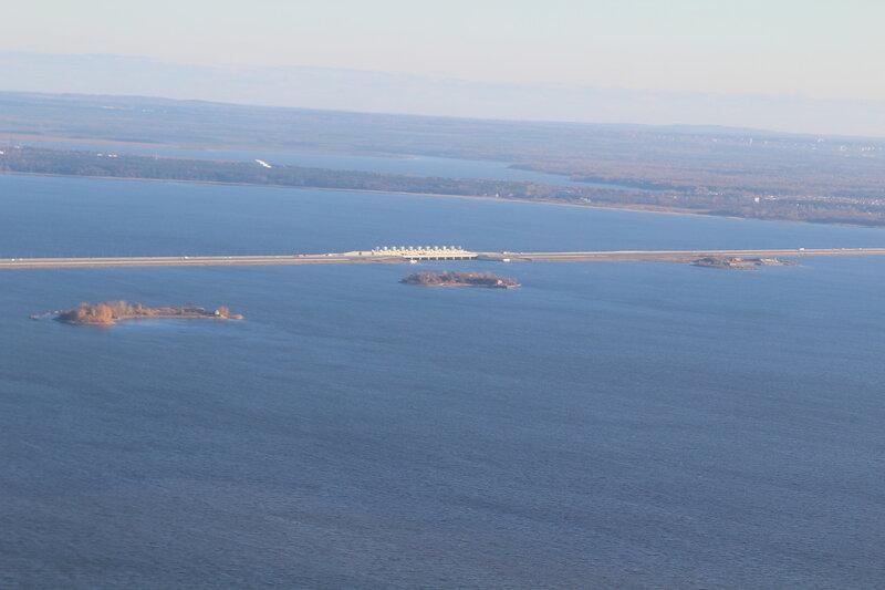 Вид с горжевой стороны на форты 5 , 6 , 7 Северные.