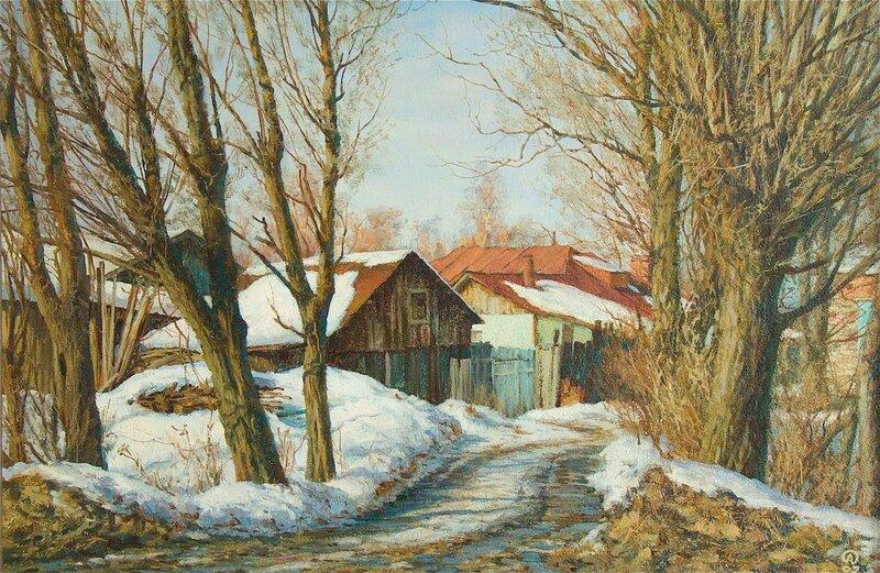 Олег Анастасов. Весна, Молзино