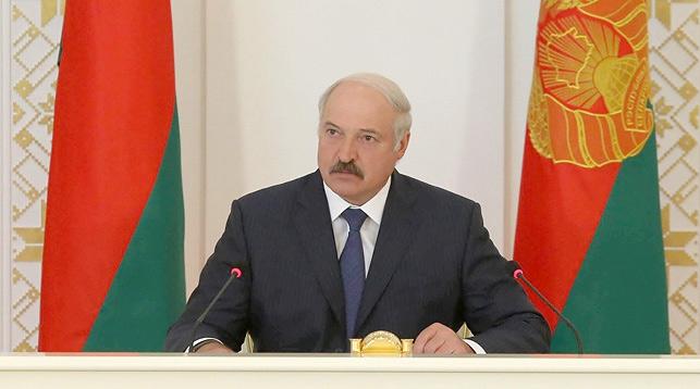 Лукашенко про склады