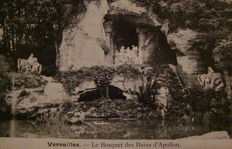 Версаль. Аполлон в окружении нимф