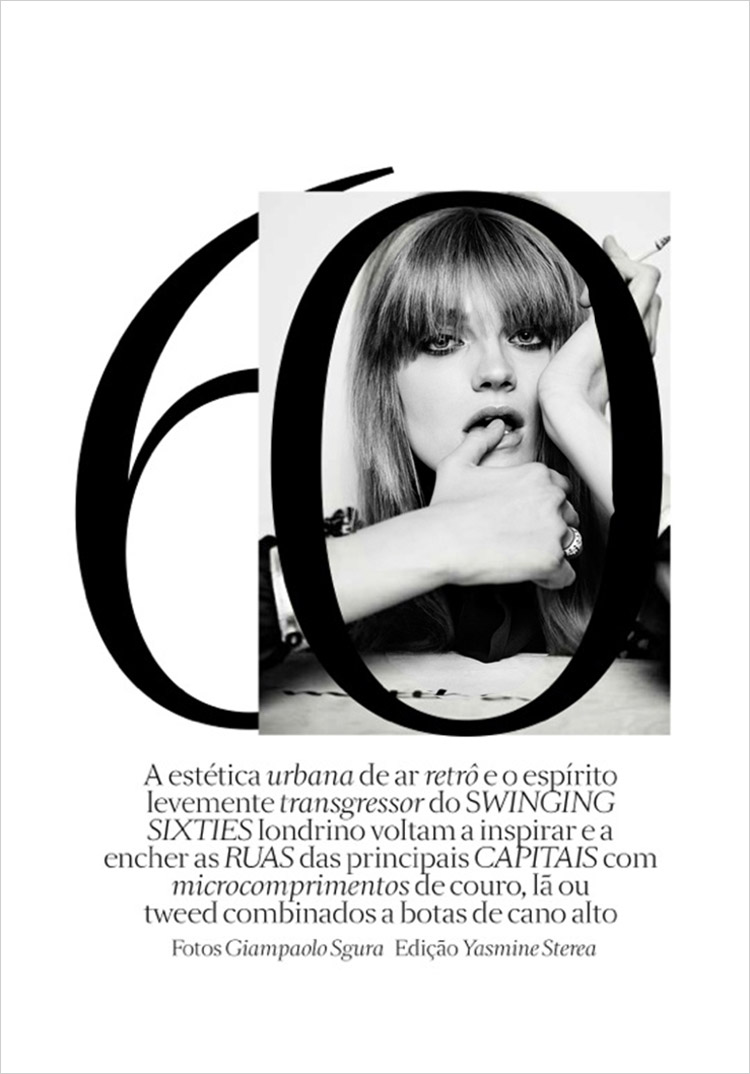 Анна Мария Ягодзинска (Anna Maria Jagodzinska) в журнале Vogue Brazil (13 фото)