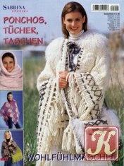 Журнал Sabrina special S 1018, 2006 Ponchos, Tücher, Taschen