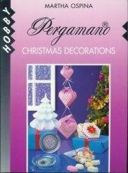Книга Pergamano Christmas decorations