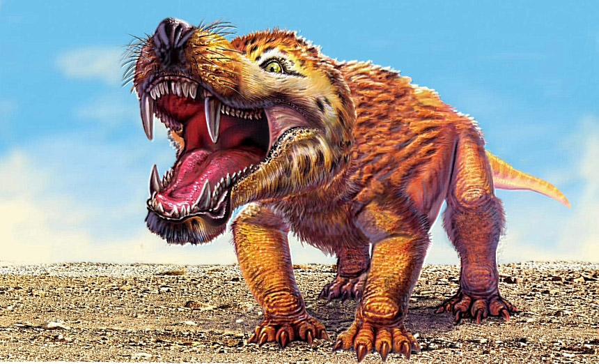 Они правили миром когда-то. Динозавры.