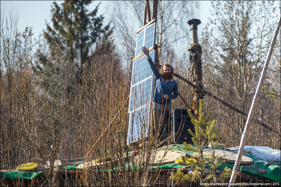 Отшельник Юра, 101 километр по Ярославке
