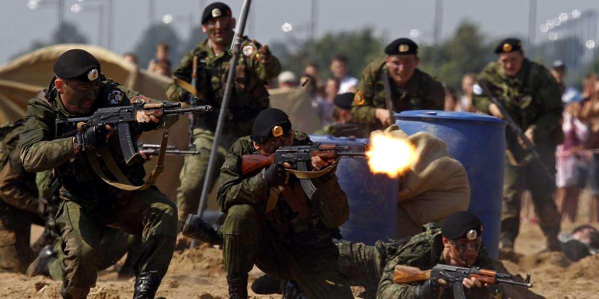 На учебном поле брани: Картинки из жизни бойцов различных спецназов (6)