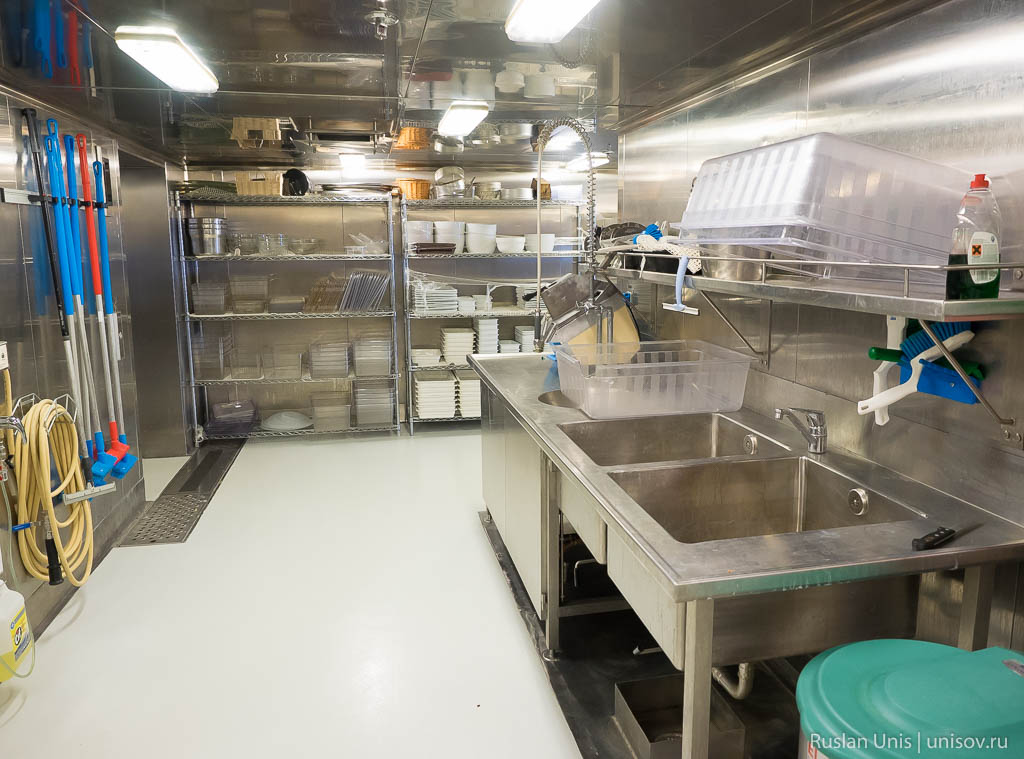 Кухня Finnlines