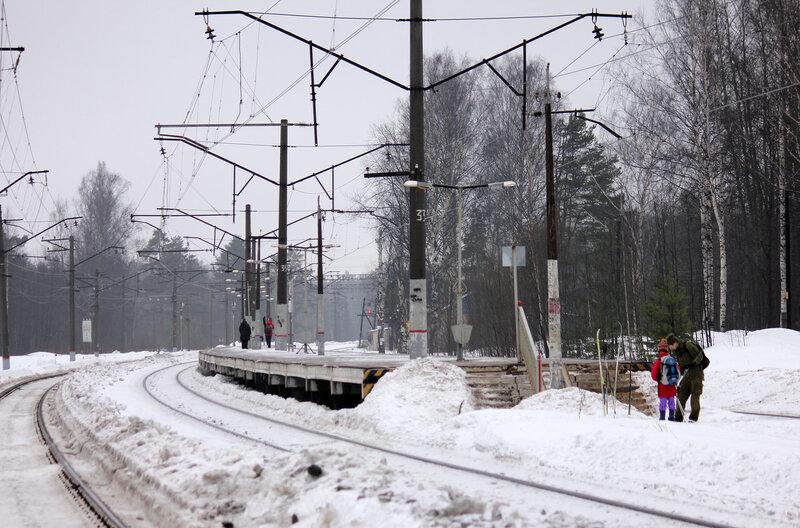 Платформа на станции Орехово